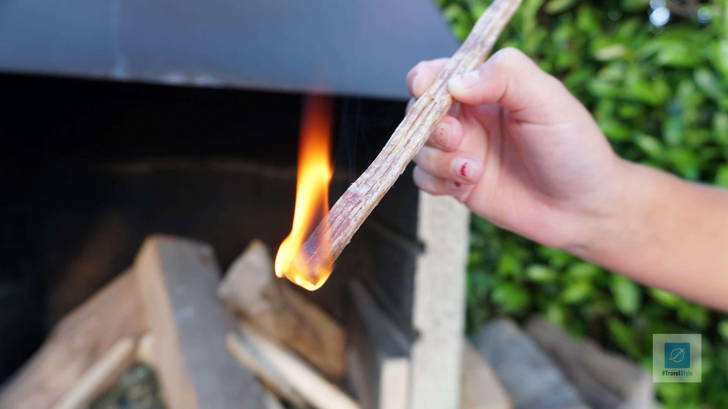 Schnell brennt es